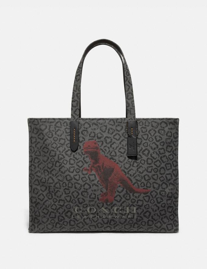 Coach Tote 42 With Rexy by Sui Jianguo Black/Black Copper New Men's New Arrivals View All