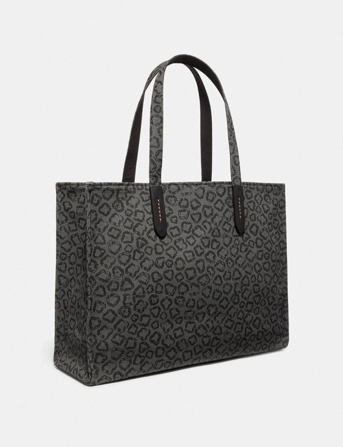 Coach Tote 42 With Rexy by Sui Jianguo Black/Black Copper New Men's New Arrivals View All Alternate View 1