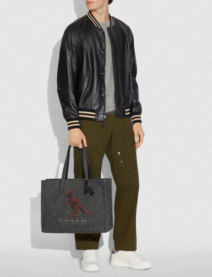 Coach Tote 42 With Rexy by Sui Jianguo Black/Black Copper New Men's New Arrivals View All Alternate View 3