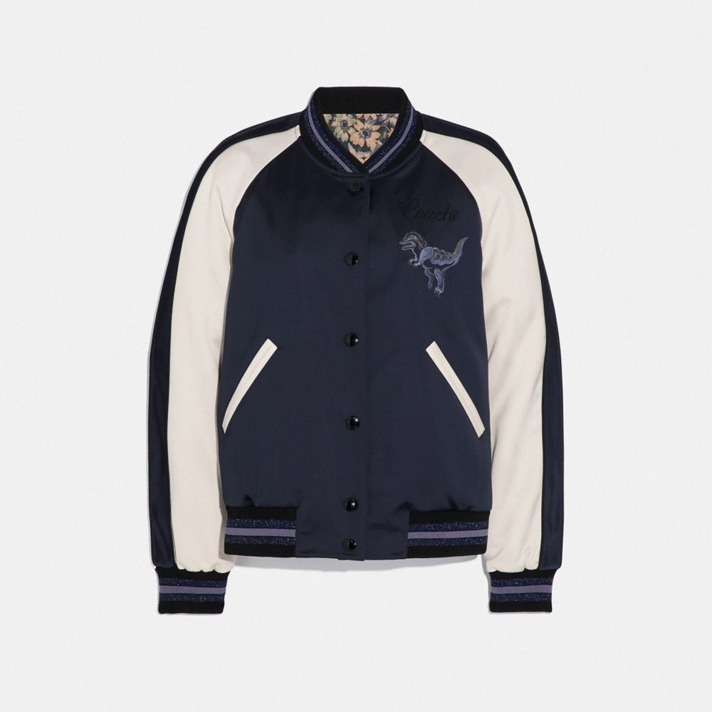 REXY BY ZHU JINGYI REVERSIBLE VARSITY JACKET