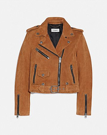2c903b45ac SUEDE MINI BIKER JACKET ...