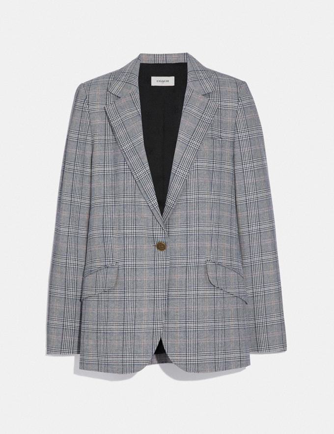Coach Oversized Blazer Multi Women Ready-to-Wear Coats & Jackets