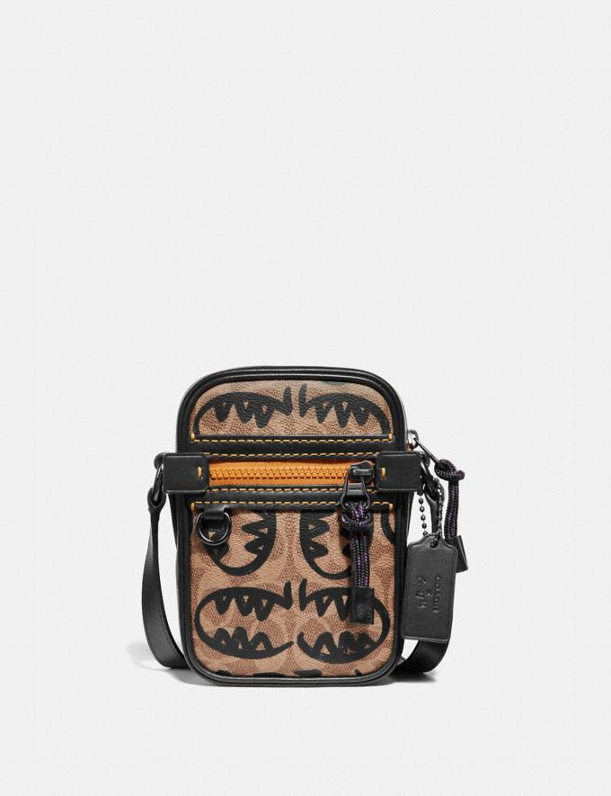 Coach Dylan 10 in Signature Canvas With Rexy by Guang Yu Khaki/Black Copper New Men's Trends Rexy Remix