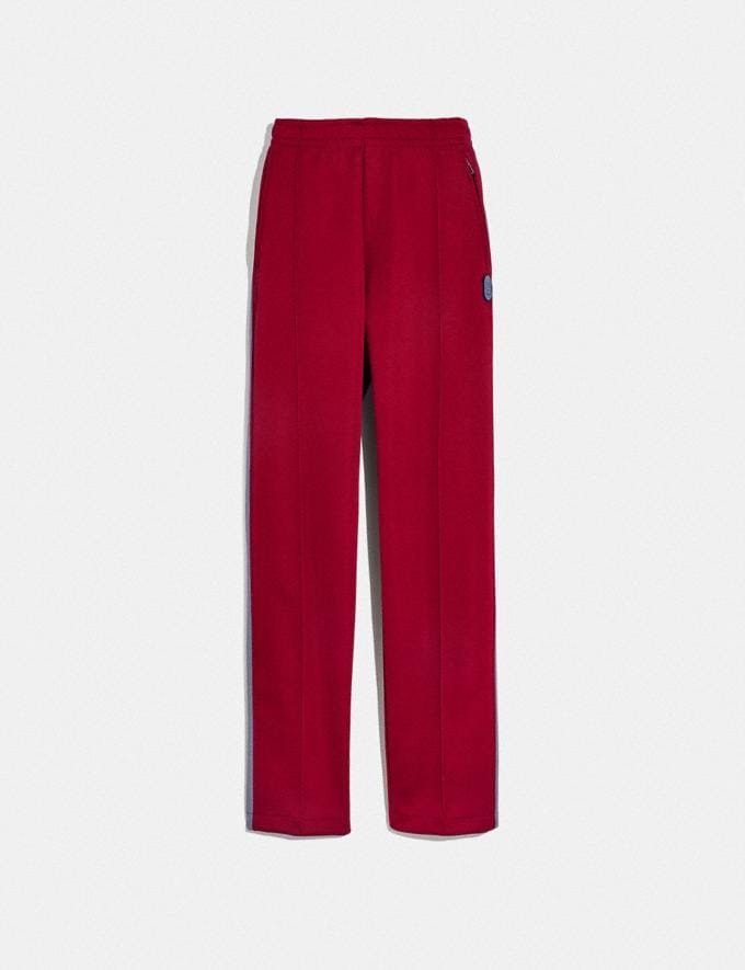Coach Track Pants Red