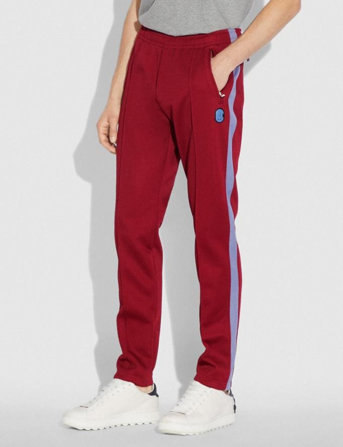 Coach Track Pants Red  Alternate View 1