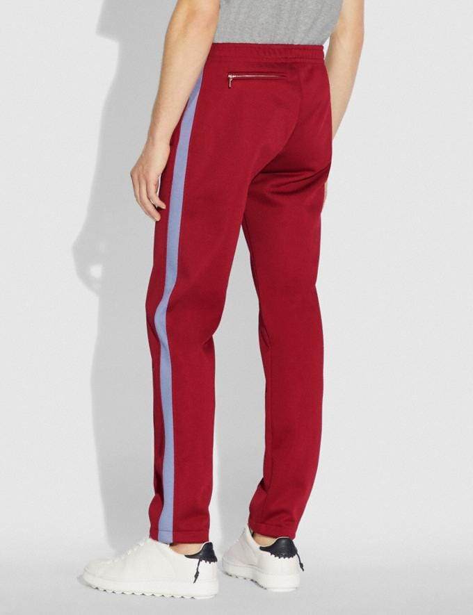 Coach Track Pants Red  Alternate View 2