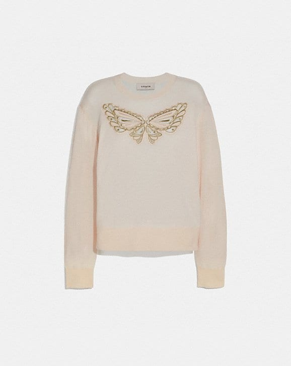 Coach BUTTERFLY LACE PULLOVER