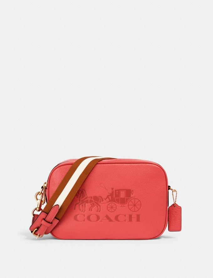 Coach Jes Crossbody Im/Bright Coral