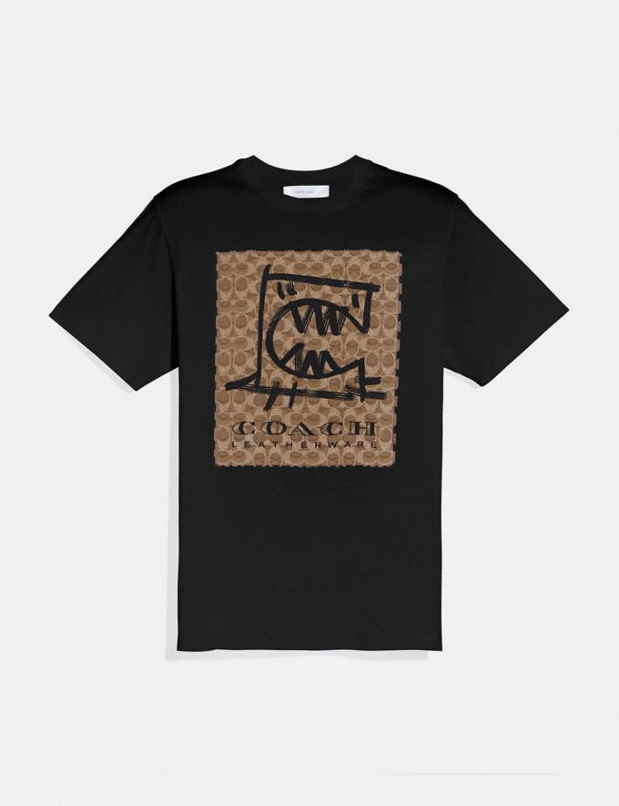 Coach Rexy by Guang Yu T-Shirt Black New Featured Rexy Collection
