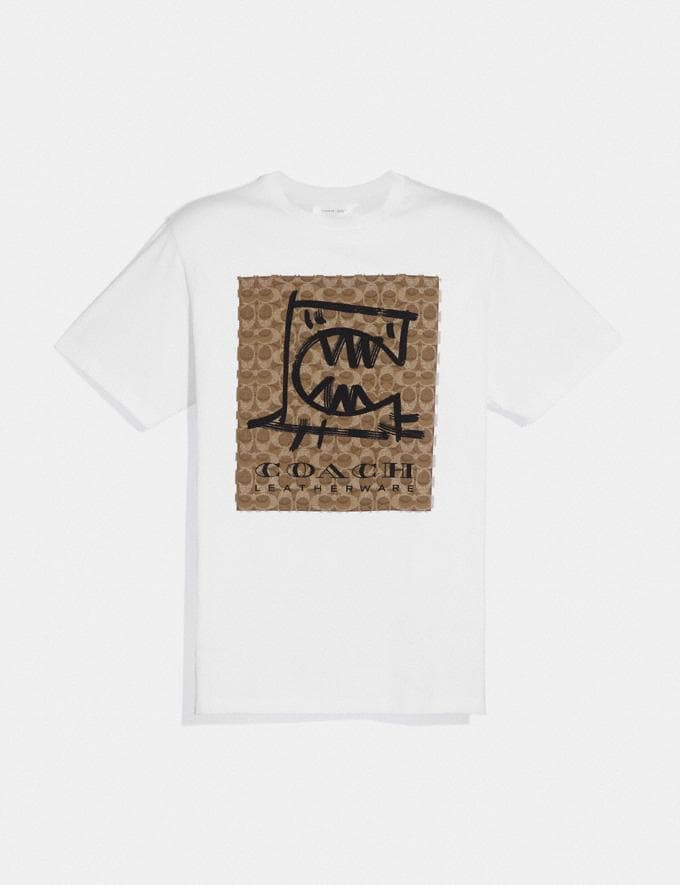 Coach Rexy by Guang Yu T-Shirt White Men Edits Signature Styles