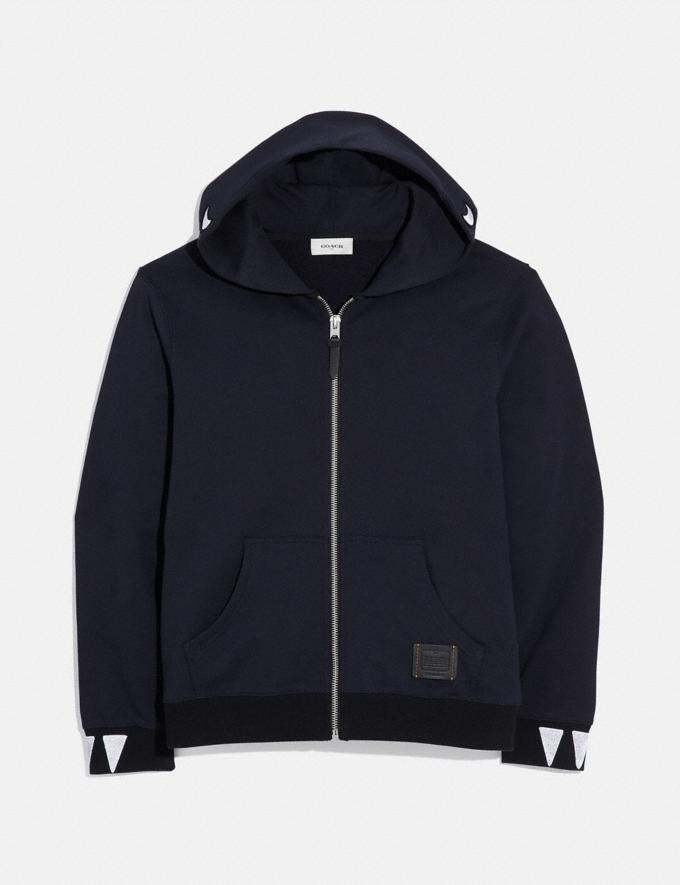 Coach Rexy Hoodie Navy Men Ready-to-Wear Tops & Bottoms