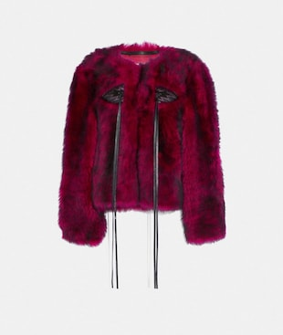 GIACCA GLAM PUNK IN SHEARLING