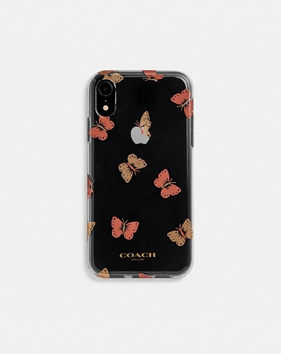 Coach IPHONE XR CASE WITH BUTTERFLY PRINT