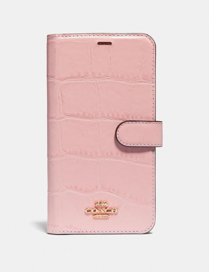 Coach iPhone Xr Folio Blossom Women Accessories Tech & Work
