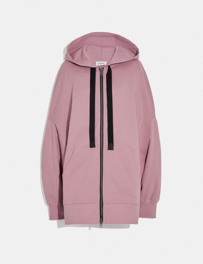 Coach Rexy by Guang Yu Zip Hoodie Pink Champagne Women Edits Weekend