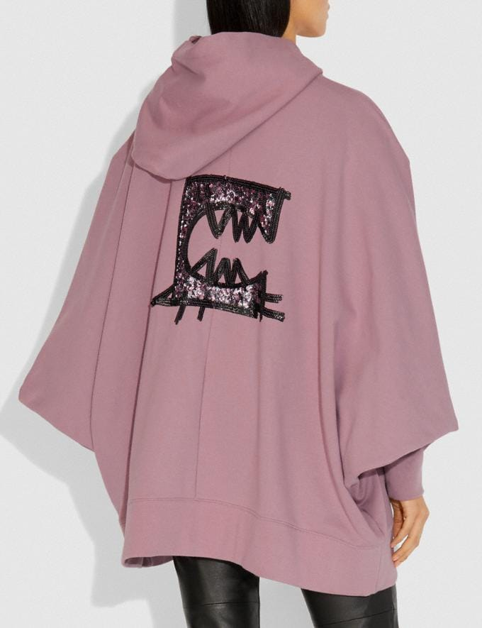 Coach Rexy by Guang Yu Zip Hoodie Pink Champagne Women Edits Weekend Alternate View 2