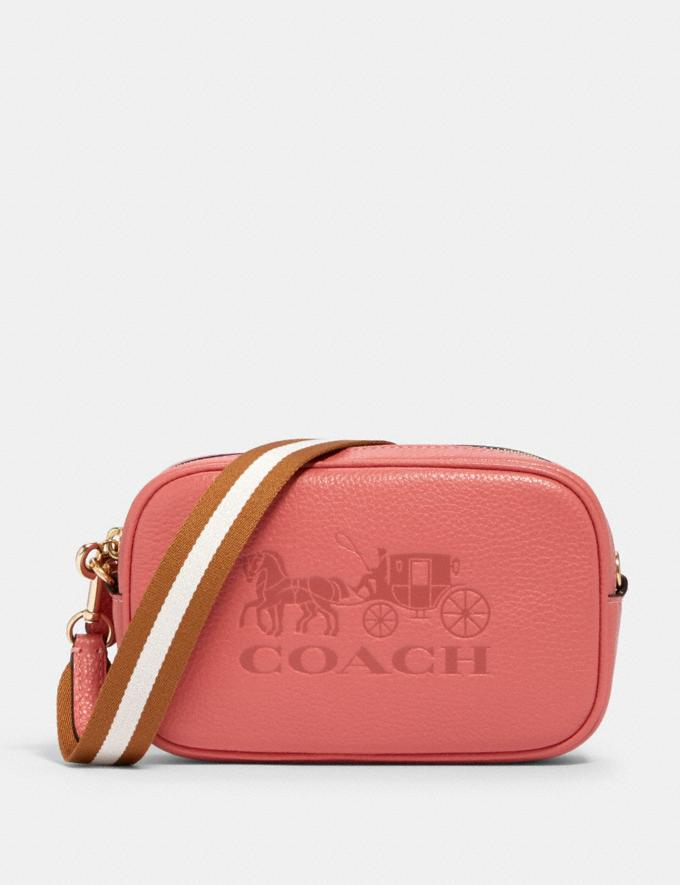 Coach Jes Convertible Belt Bag Im/Bright Coral Members Only Members Only