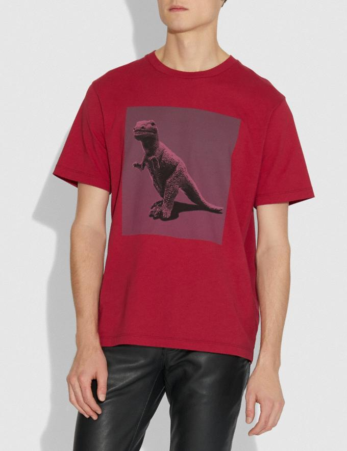 Coach Rexy by Sui Jianguo T-Shirt Red New Men's New Arrivals View All Alternate View 1