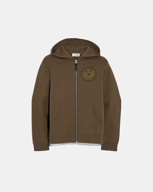 Coach REXY BY YETI OUT ZIP HOODIE