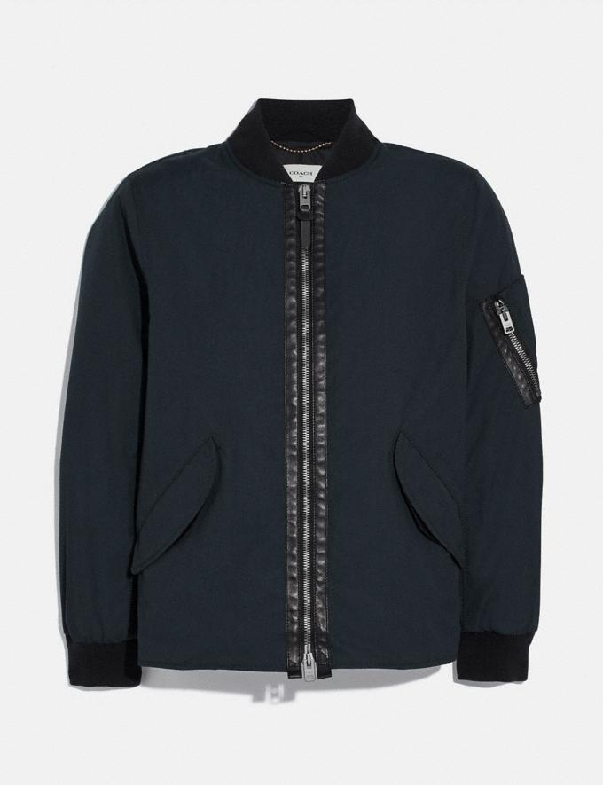 Coach Ma-1 Jacket Dark Oxford