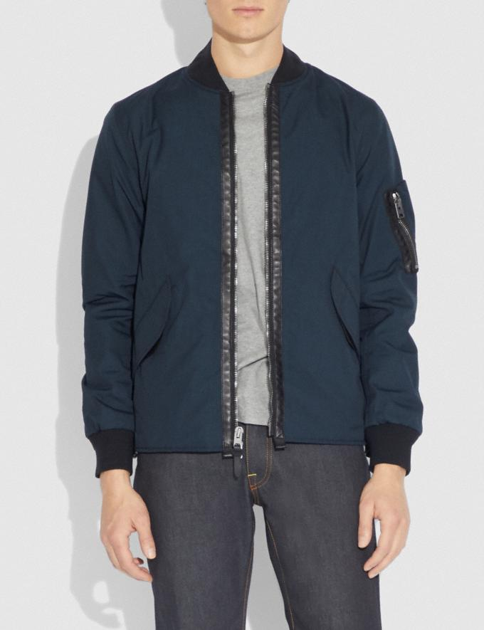 Coach Ma-1 Jacket Dark Oxford  Alternate View 1