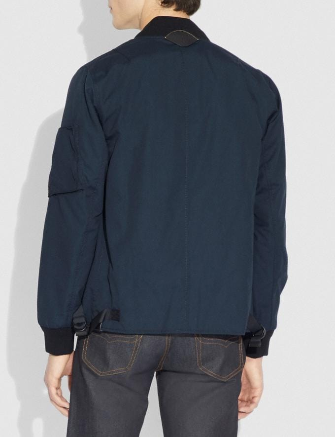 Coach Ma-1 Jacket Dark Oxford  Alternate View 2