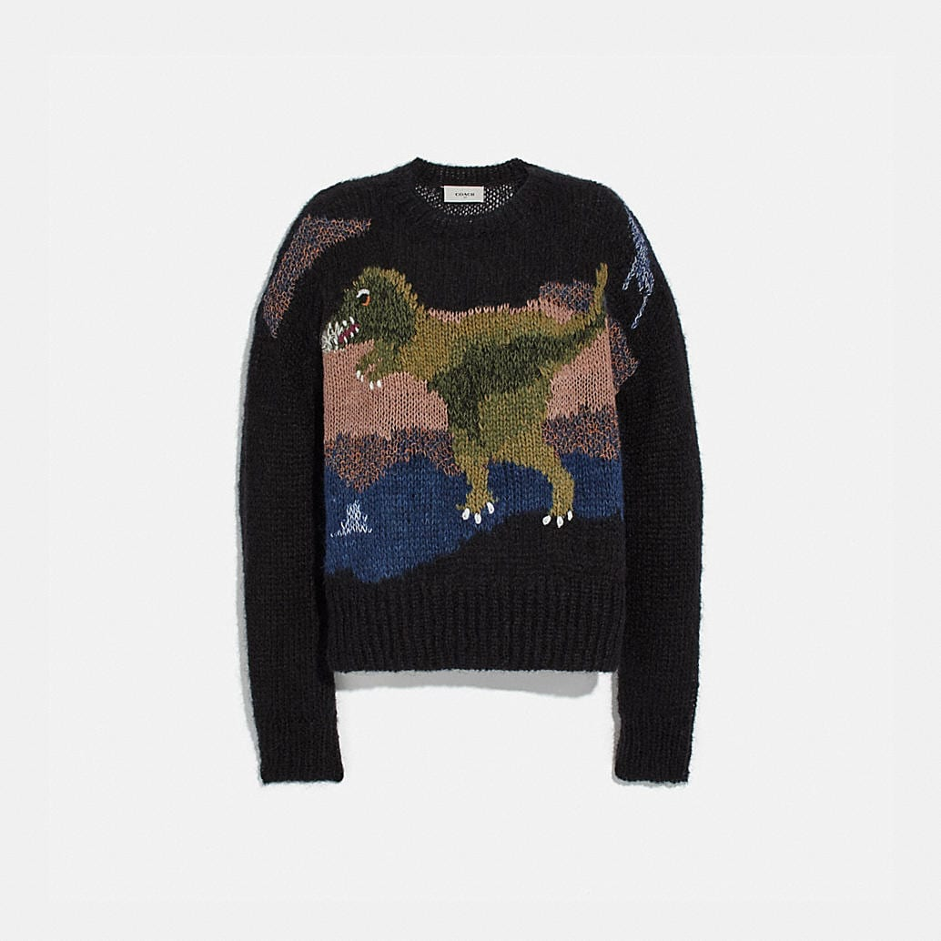 Rexy Mohair Sweater by Coach