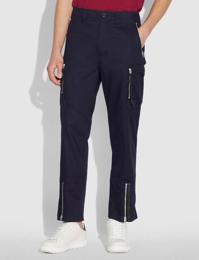 Coach Army Pants Deep Navy  Alternate View 1
