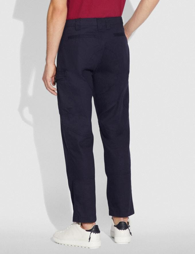 Coach Army Pants Deep Navy New Men's New Arrivals Ready-to-Wear Alternate View 2