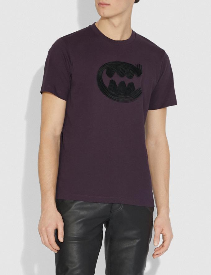 Coach Rexy by Guang Yu T-Shirt Grape Men Ready-to-Wear Tops & Bottoms Alternate View 1