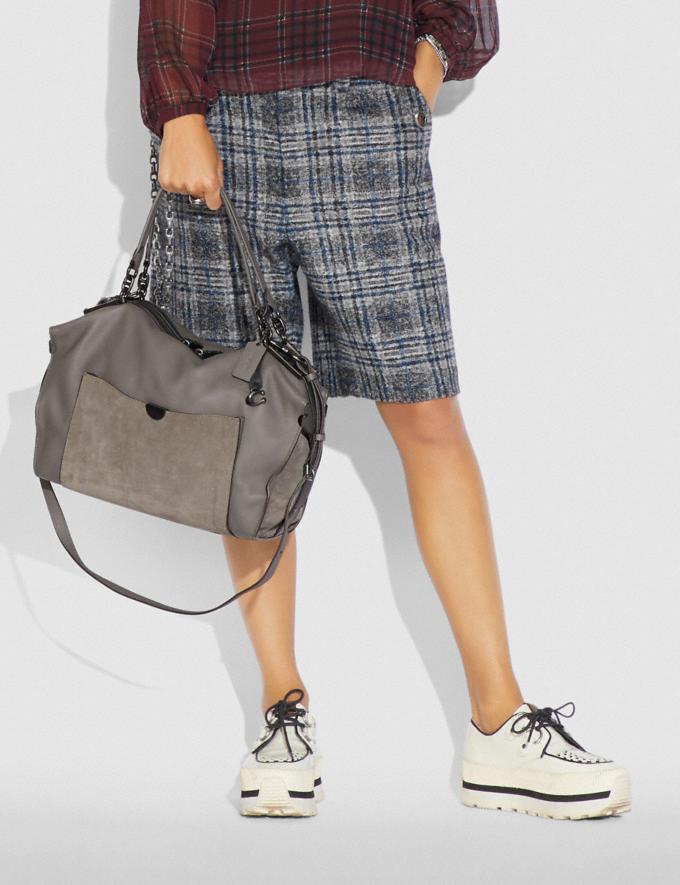 Coach Darla 32 Heather Grey/Pewter Women Handbags Alternate View 3