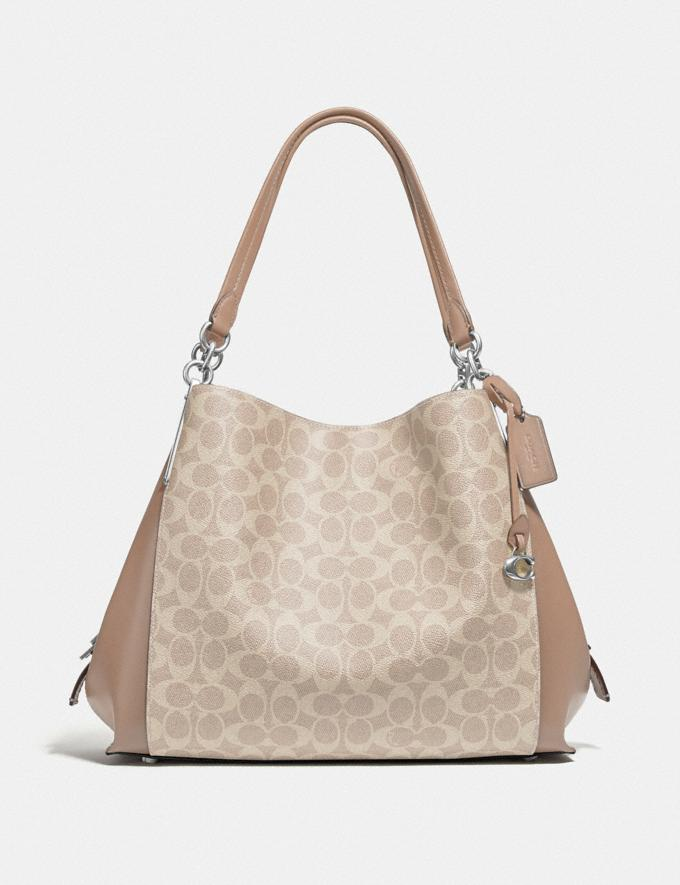Coach Dalton 31 in Signature Canvas Lh/Sand Taupe New Women's New Arrivals
