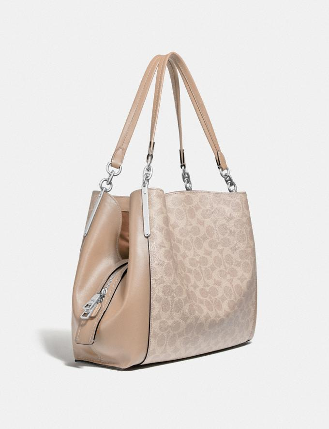 Coach Dalton 31 in Signature Canvas Lh/Sand Taupe New Women's New Arrivals Alternate View 1