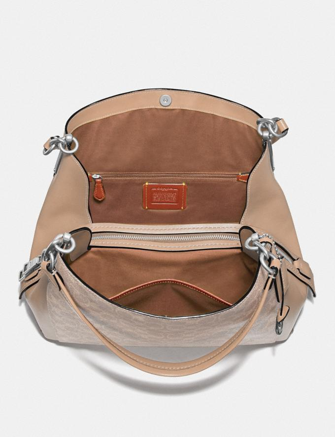 Coach Dalton 31 in Signature Canvas Lh/Sand Taupe New Women's New Arrivals Alternate View 2