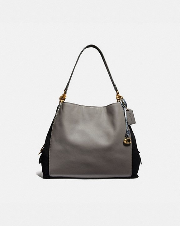 Coach DALTON 31 IN COLORBLOCK WITH SNAKESKIN DETAIL