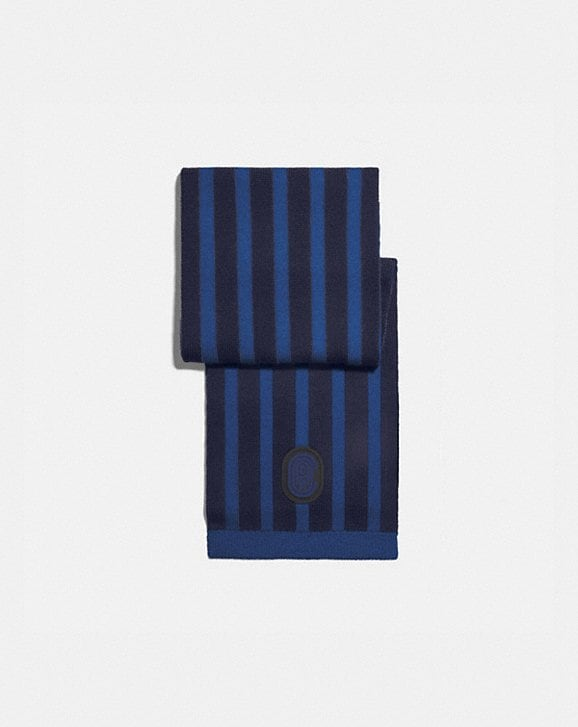 Coach SIGNATURE RETRO PATCH KNIT SCARF