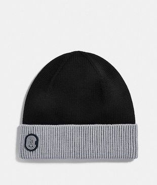SIGNATURE RETRO PATCH BEANIE