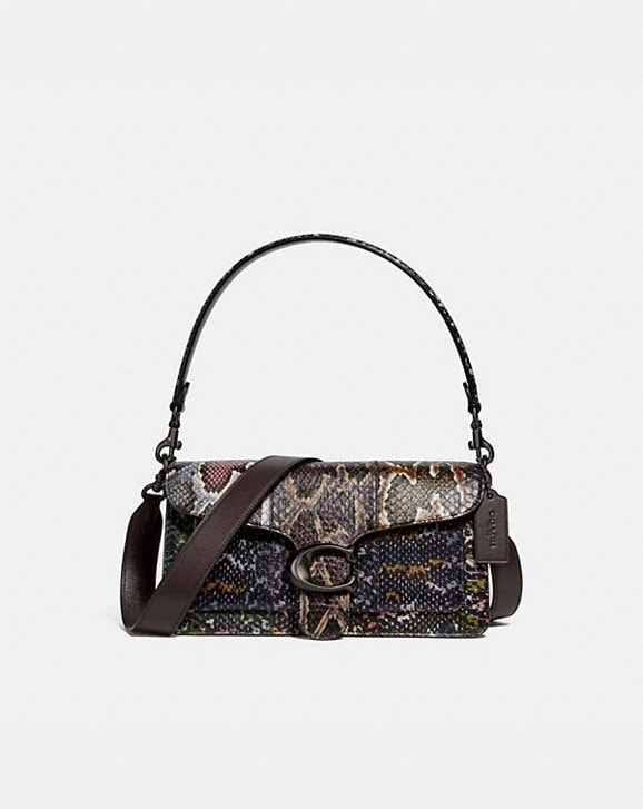 Coach TABBY SHOULDER BAG 26 IN SNAKESKIN