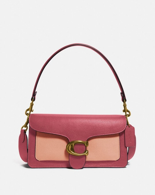 TABBY SHOULDER BAG 26 IN COLORBLOCK
