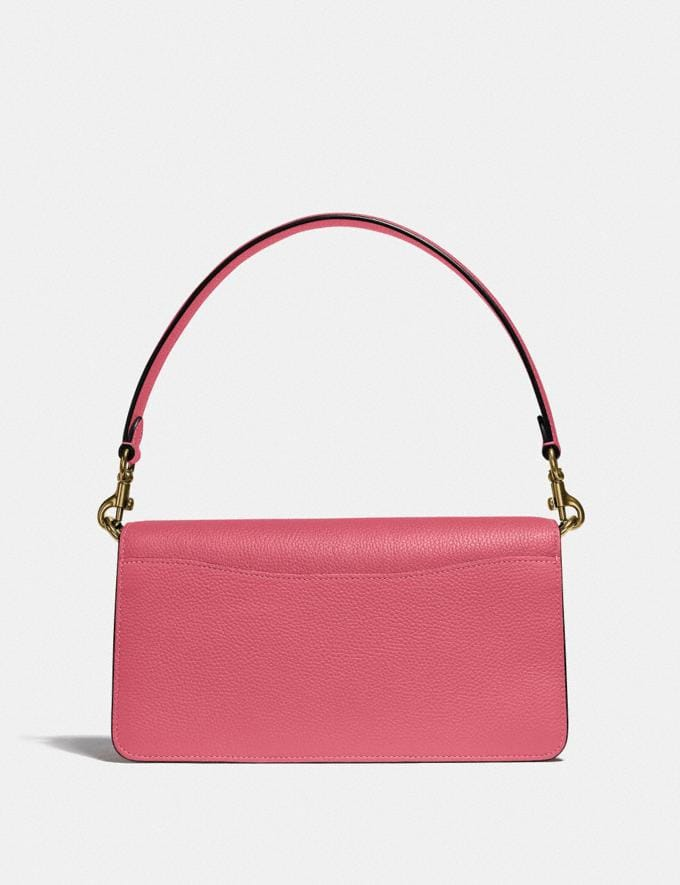 Coach Tabby Shoulder Bag 26 in Colorblock Brass/Rouge Multi New Women's New Arrivals Bags Alternate View 2