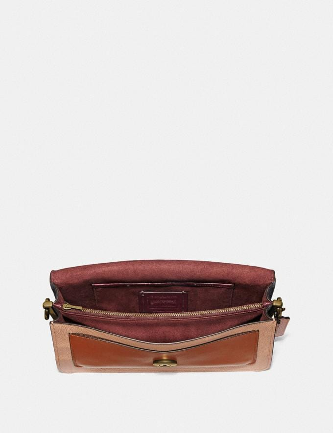 Coach Tabby Shoulder Bag 26 in Colorblock Vintage Mauve Multi/Brass New Featured Online-Only Alternate View 3