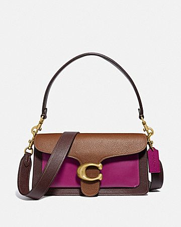 sac épaule 26 tabby en color block
