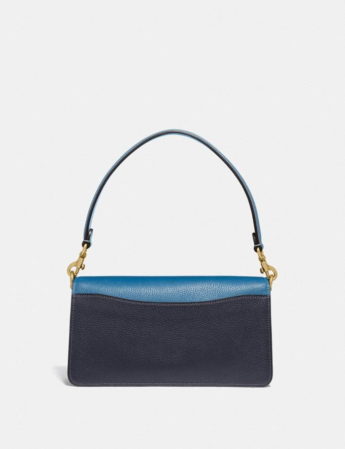 Coach Tabby Shoulder Bag 26 in Colorblock Brass/Lake Multi Gifts For Her Bestsellers Alternate View 2