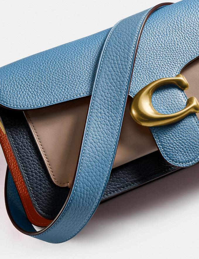 Coach Tabby Shoulder Bag 26 in Colorblock Brass/Lake Multi Gifts For Her Bestsellers Alternate View 5