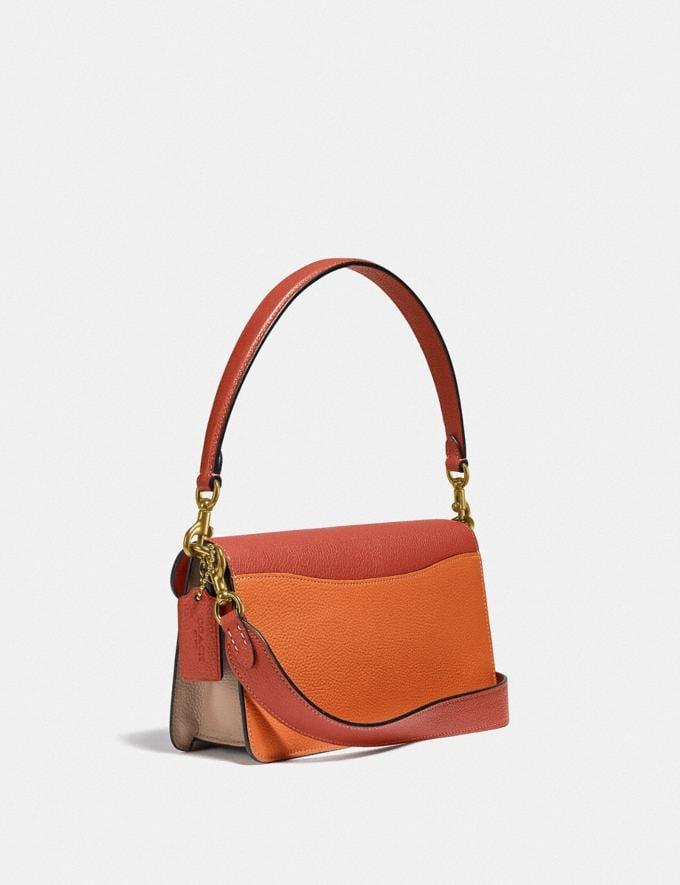 Coach Tabby Shoulder Bag 26 in Colorblock B4/Rust Multi Women Bags Shoulder Bags Alternate View 1