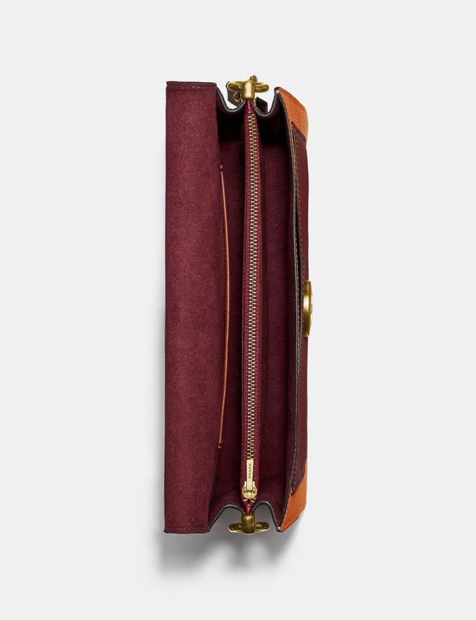 Coach Tabby Shoulder Bag 26 in Colorblock B4/Rust Multi Women Bags Shoulder Bags Alternate View 3