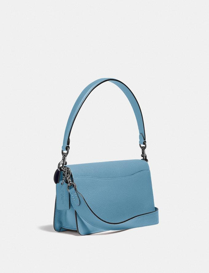 Coach Tabby Shoulder Bag 26 in Colorblock V5/Azure Multi New Women's New Arrivals Bags Alternate View 1