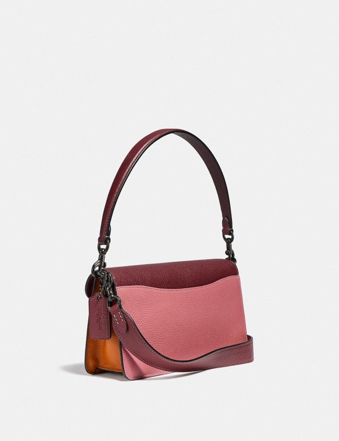 Coach Tabby Shoulder Bag 26 in Colorblock V5/Vintage Pink Multi Outlet Last Chance Bags Alternate View 1