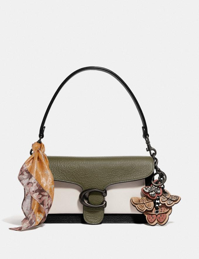 Coach Tabby Shoulder Bag 26 in Colorblock Kelp Multi/Pewter Women Bags Crossbody Bags Alternate View 4