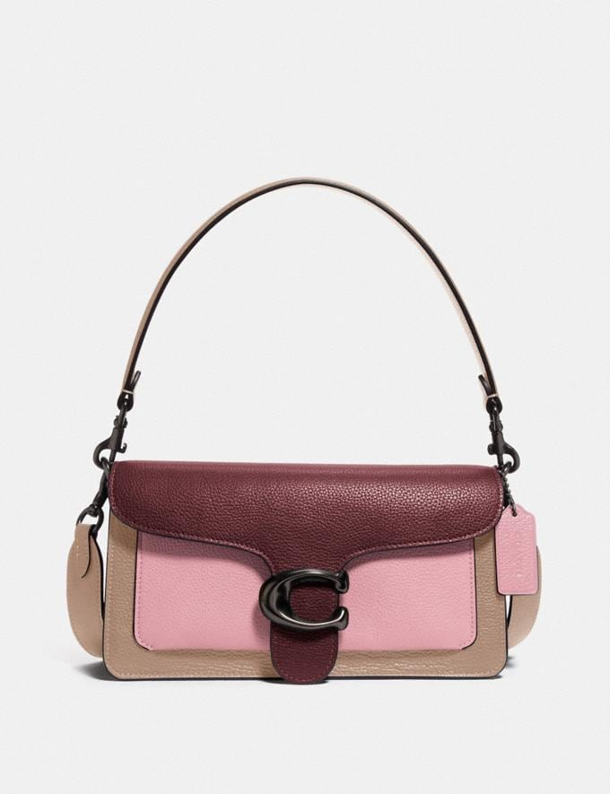 Coach Tabby Shoulder Bag 26 in Colorblock V5/Powder Pink Multi Cyber Monday For Her Tabby 50% Off